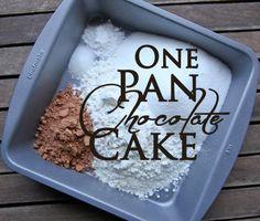 One Pan Chocolate Cake | Better Recipes