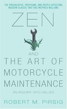 Zen and the Art of Motorcycle Maintenance: An Inquiry Into Values by Robert M. Pirsig http://www.amazon.com/dp/0060589469/ref=cm_sw_r_pi_dp_6nlcub0W0GAQG