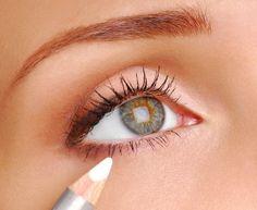 eyeliner on waterline or below picture - Google Search