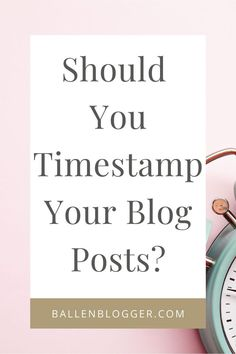 Should you timestamp your blog posts? Most Popular Blogs, Wordpress Org, Build A Blog, Blog Topics, Content Marketing Strategy, Blog Design, Blogging For Beginners, How To Start A Blog, Posts