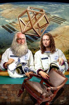 Gioconda&Leo in future / visual metaphors
