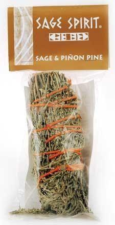 "Sage & Pinion Pine Smudge Stick 5"""