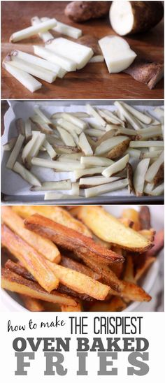 How to Make The Crispiest Oven Baked French Fries- Baker Bettie
