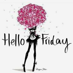 Weekend Quotes : QUOTATION – Image : Quotes Of the day – Description Hello FRIDAY! / Megan Hess Illustration More Sharing is Caring – Don't forget to share this quote ! Happy Friday, Hello Friday, Hello Weekend, Friday Weekend, Bon Weekend, Happy Weekend, Weekend Meme, Friday Yay, Friday Funday