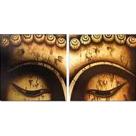 Buddha Eyes Diptych