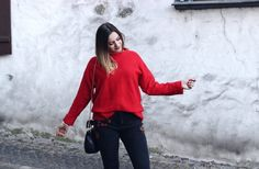 Outfit - Black and Red + Life Update | daiisyli