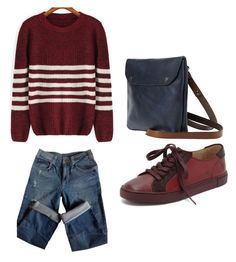 """Outfit Idea by Polyvore Remix"" by polyvore-remix ❤ liked on Polyvore featuring Sandro, Toast and Frye"
