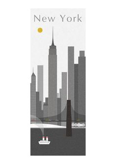 New York print (special price) on Etsy, $16.67 AUD