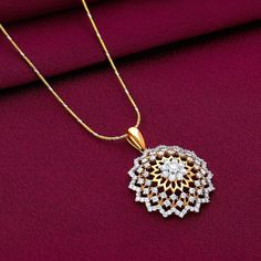 Statement Diamond Necklace Designs To Match With Party Outfits!! • South India Jewels