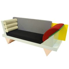 Big Sur Sofa- Peter Shire- Memphis, Italy