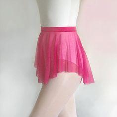 Ballet SAB skirt--Magenta Mesh- Dance Skirt by RoyallDancewear