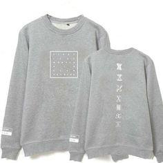 clothes models autumn men and women monsta x album i.m minhyuk sweatshirt shirt moletom hoodie kpop