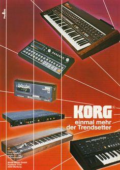 KORG Anzeige 1983