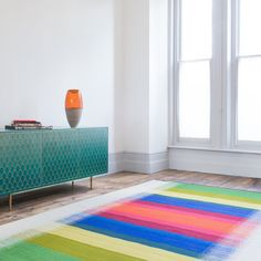 Colour Blur - gorgeous new rug just listed on the shop! Available now!