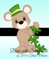 Bear with Shamrock Chain (freebie)
