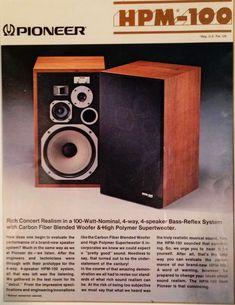 Pioneer HPM-100 Ad 1976-1979