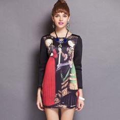 Hot Sale High Quality A-Shaped Vacuum Cotton Dress