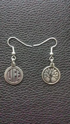 "Day 127: Boucles d'oreilles ""tree & life"""