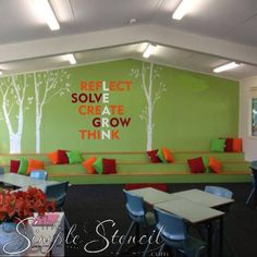 LEARN - Classroom Learn Definition Word Wall A great design to inspire and beautify your clas Classroom Walls, Classroom Design, Classroom Themes, Classroom Seats, Classroom Wall Decor, Highschool Classroom Decor, Back To School Highschool, Seasonal Classrooms, Playroom