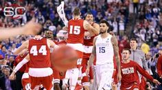 Wisconsin hands Kentucky first loss Frank Kaminsky  #FrankKaminsky