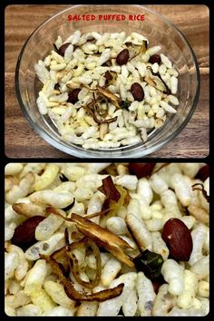 Salted Puffed Rice also known as Murmure Namkeen, is an extremely crisp and delicious, healthy and easy to make snack recipe. Easy To Make Snacks, Vegan Recipes, Snack Recipes, Puffed Rice, Homemade Recipe, Indian Snacks, Pasta Salad, Crisp, Vegetarian