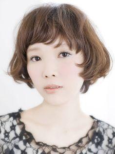 面長な女性に似合う髪型・ヘアスタイル画像集【ショート・ボブ・ロング】 - NAVER まとめ
