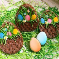 New Baking Spring Desserts Ideas No Egg Cookies, Fancy Cookies, Cute Cookies, Easter Cookies, Cupcake Cookies, Easter Treats, Sugar Cookies, Rosette Cookies, Summer Cupcakes