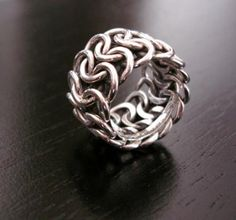 chainmail ring Love it so much i bought the tutorial on kalmbach.com for $5!