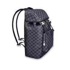 7a7708e6e4f4 Men - Zack Backpack Damier Graphite Canvas Men Travel