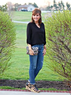 27 Days of Spring Fashion: The Perfect Wedge #paylessforstyle - Grace & Beauty