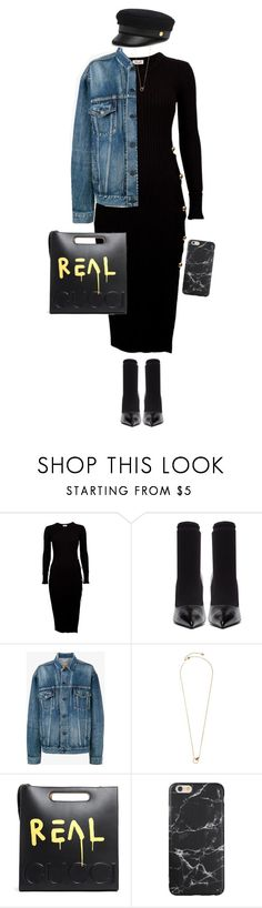 """""""Untitled #1071"""" by julianne28 on Polyvore featuring Balenciaga, Dyrberg/Kern, Gucci and Henri Bendel"""