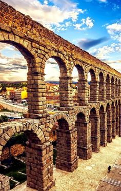 Famous Aqueduct in Segovia, Castilla y Leon | Spain Travel Guide