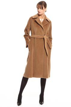 Da Donna con Manica Lunga Blazer ITALIANO Fibbia Tie Con Cintura Cape Cardigan Cappotto