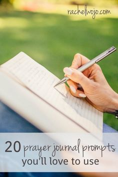 Once I started writing out my prayers to God in a journal, I discovered all the benefits and I wanted to write more. But what do you write? Check out these prayer journaling ideas.