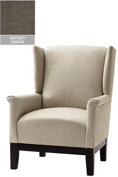 Custom Amy Wingback Chair