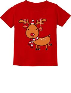 Christmas Reindeer Lights Funny Holiday Boy Girl Infant Kids T-Shirt Christmas Reindeer Lights, Christmas Holidays, Christmas Gifts, 2nd Birthday Gifts, Movie Gift, Ugly Sweater Party, Book Worms, T Shirts For Women, Trending Outfits