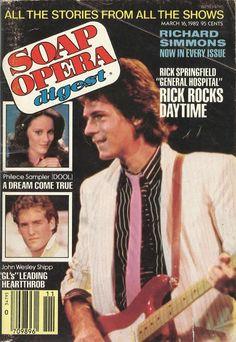 Rick Springfield (Noah #GH) 3/16/82 http://classicsodcovers.tumblr.com/