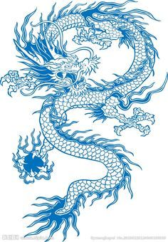super ideas for tattoo dragon chinese tatoo Blue Dragon Tattoo, Dragon Tattoo For Women, Japanese Dragon Tattoos, Blue Tattoo, Dragon Tattoo Designs, Chinese Dragon Drawing, Asian Dragon Tattoo, Skull Tatto, Tatoo Art