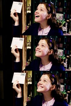"""Look! It's a letter from Susan!""  