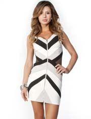 Zipper Detail Dress @ FlirtCatalog.com