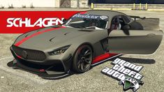 Hi guys, in this video i'll be showing off the Benefactor Schlaugen GT, Before and after upgrades, as well as a test drive. Grand Theft Auto, Driving Test, Gta