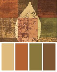 autumn color palette | yeah...
