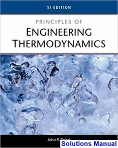 Principles of heat transfer 8th edition kreith solutions manual test solutions manual for principles of engineering thermodynamics si edition 1st edition by reisel ibsn 9781285056487 fandeluxe Image collections