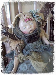 Enchant Art Doll Fairy by Mosshillstudio on Etsy