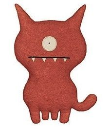 Ugly Doll Dog. Love these quirky little critters. My children will have millions of these.