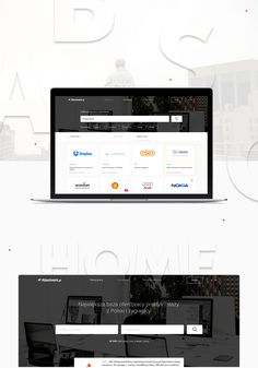 Absolvent.pl - web platform (mobile & desktop) on Behance