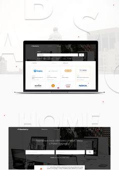 Absolvent.pl - web platform (mobile & desktop) on Behance