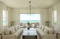 A white beach house