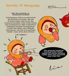 Bersin  Menguap Islamic Qoutes, Islamic Inspirational Quotes, Muslim Quotes, Allah Islam, Islam Muslim, Islam Quran, Muslim Women, Hadith Quotes, Quran Quotes