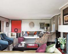 Mezclas sorprendentes: Un piso decorado con acierto